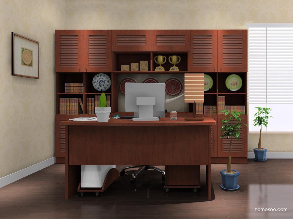 新中式主义书房家具C8076