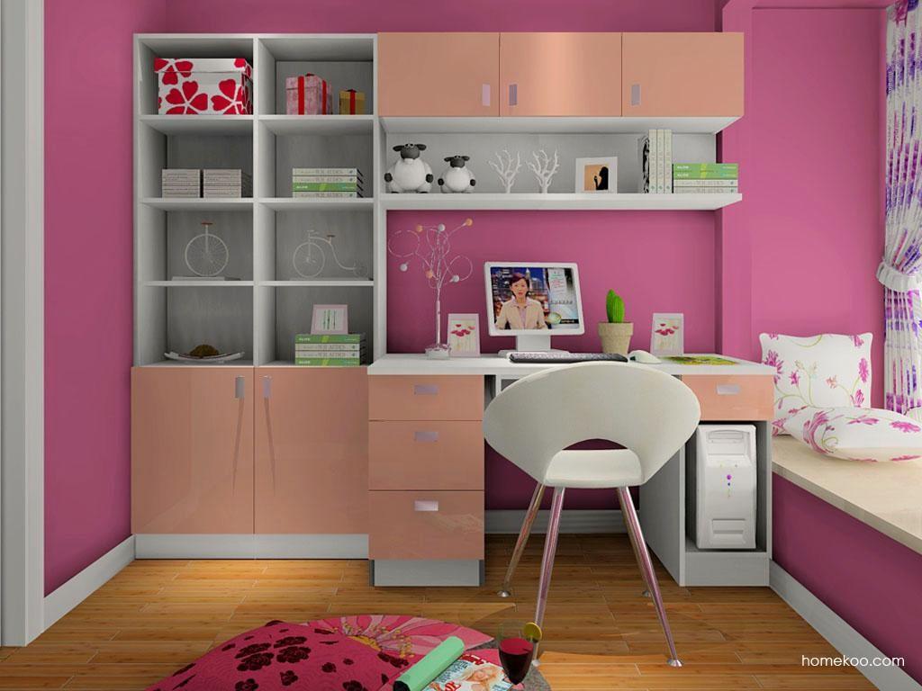 浪漫主义书房家具C8080