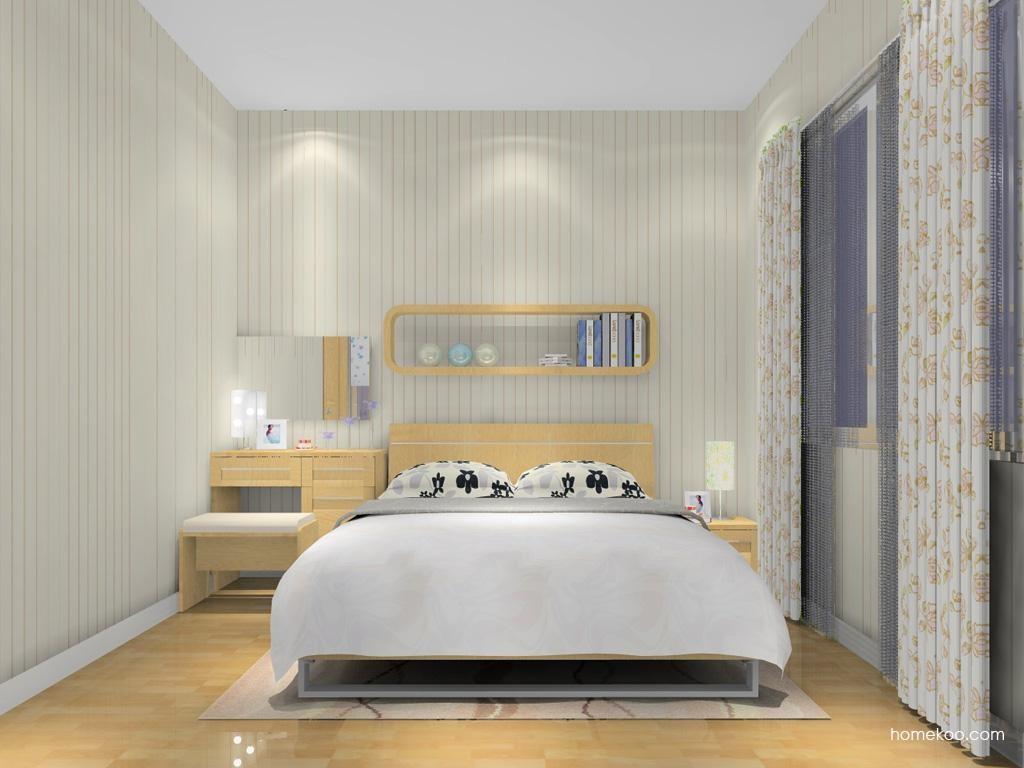丹麦本色卧房家具A8580