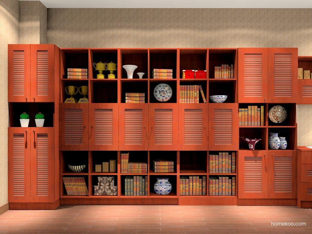 新中式主义书房家具C8103