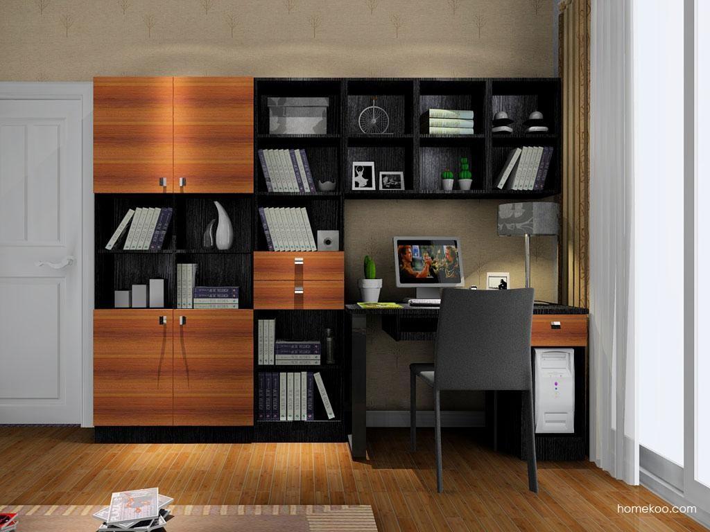 德国森林书房家具C8124