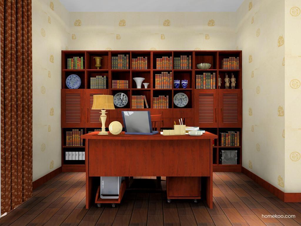 新中式主义书房家具C8128