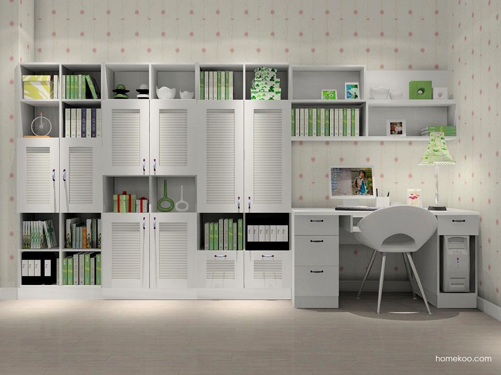 韩式田园书房家具C8228