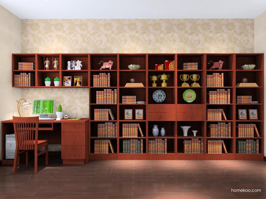新中式主义书房家具C8229