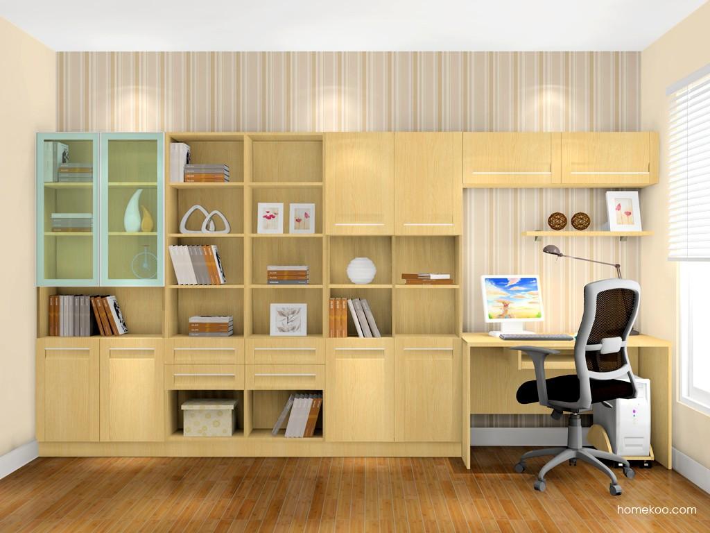 丹麦本色书房家具C0991