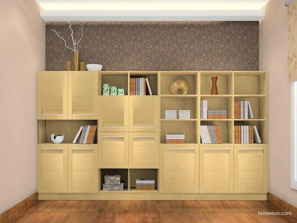 丹麦本色书房家具C0973