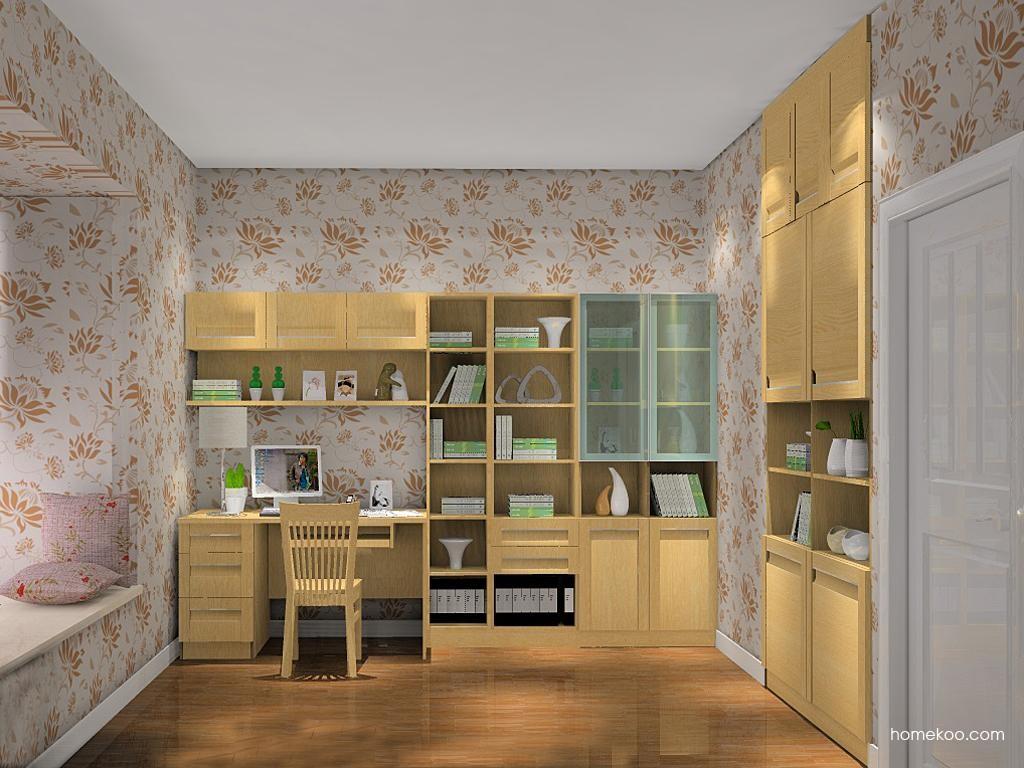 丹麦本色书房家具C8383