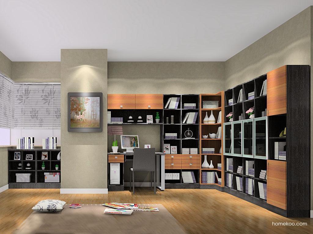 德国森林书房家具C8388