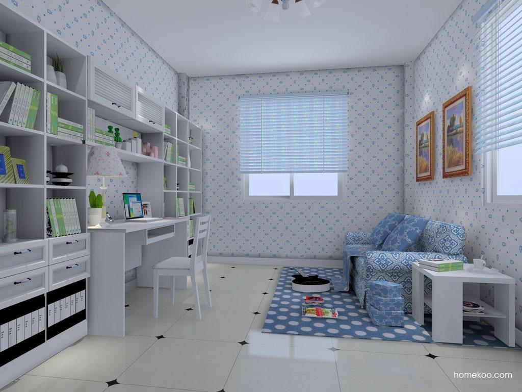 韩式田园书房家具C8399