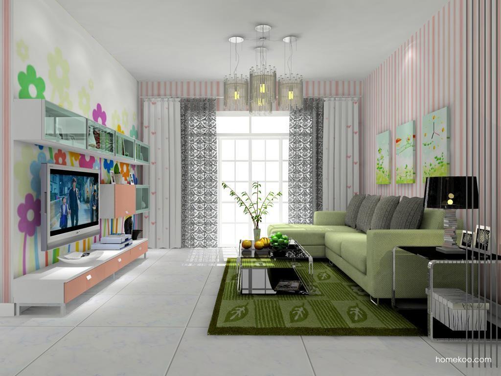 浪漫主义客厅家具D7928