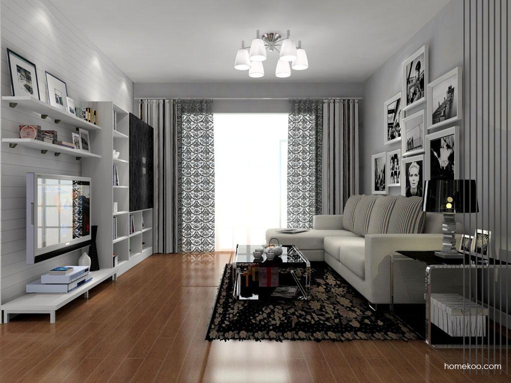 简约主义客厅家具D7930