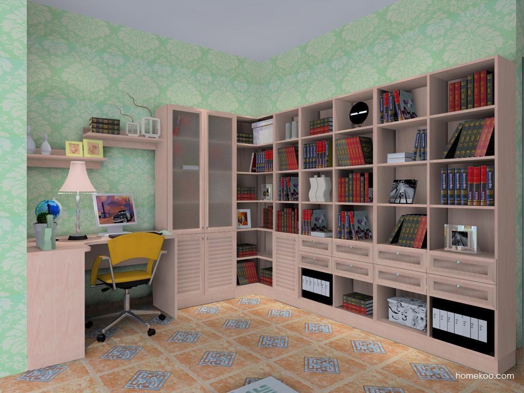 北欧阳光书房家具C8418