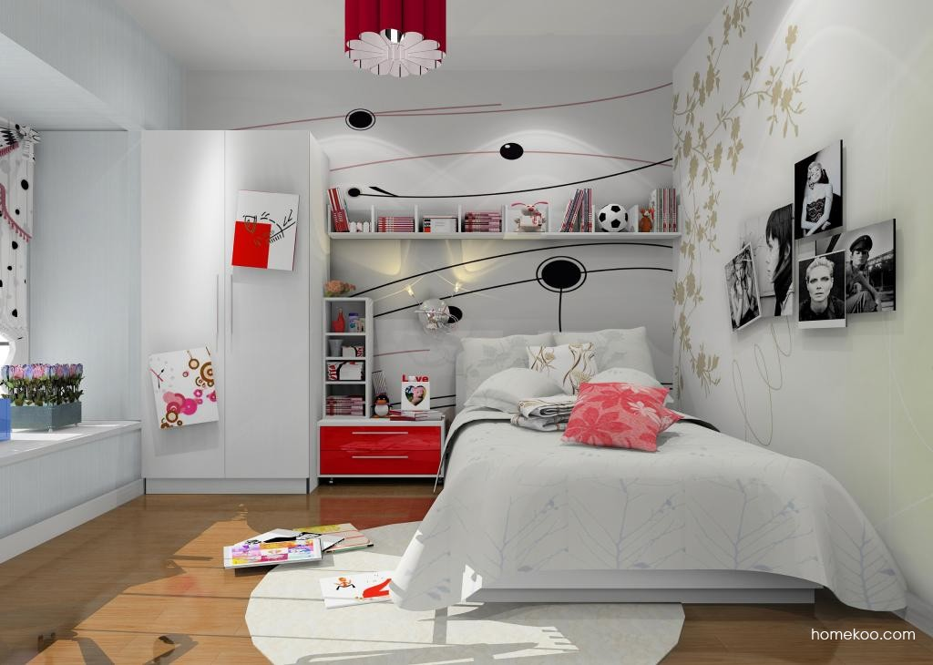 女孩的梦青少年房B7974