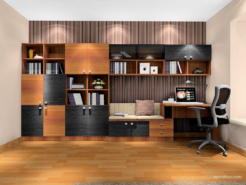 德国森林书房家具C8469