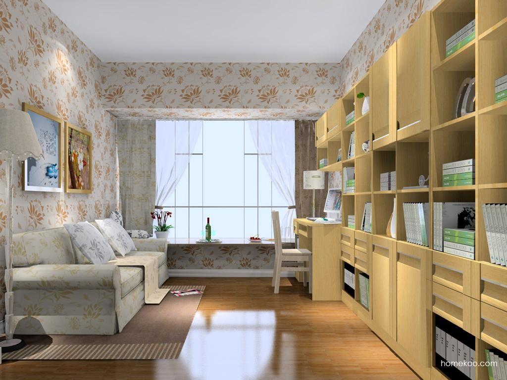 丹麦本色书房家具C8471