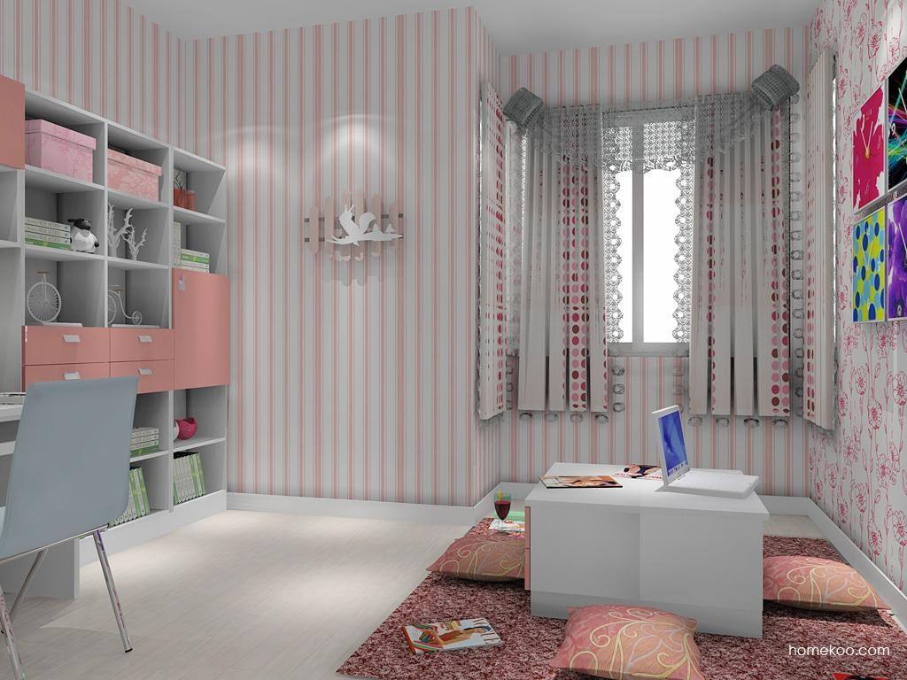 浪漫主义书房家具C8510