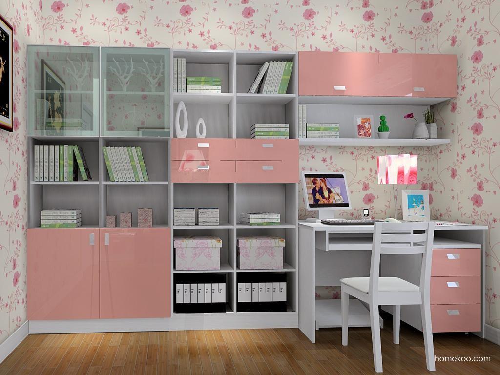 浪漫主义书房家具C8518