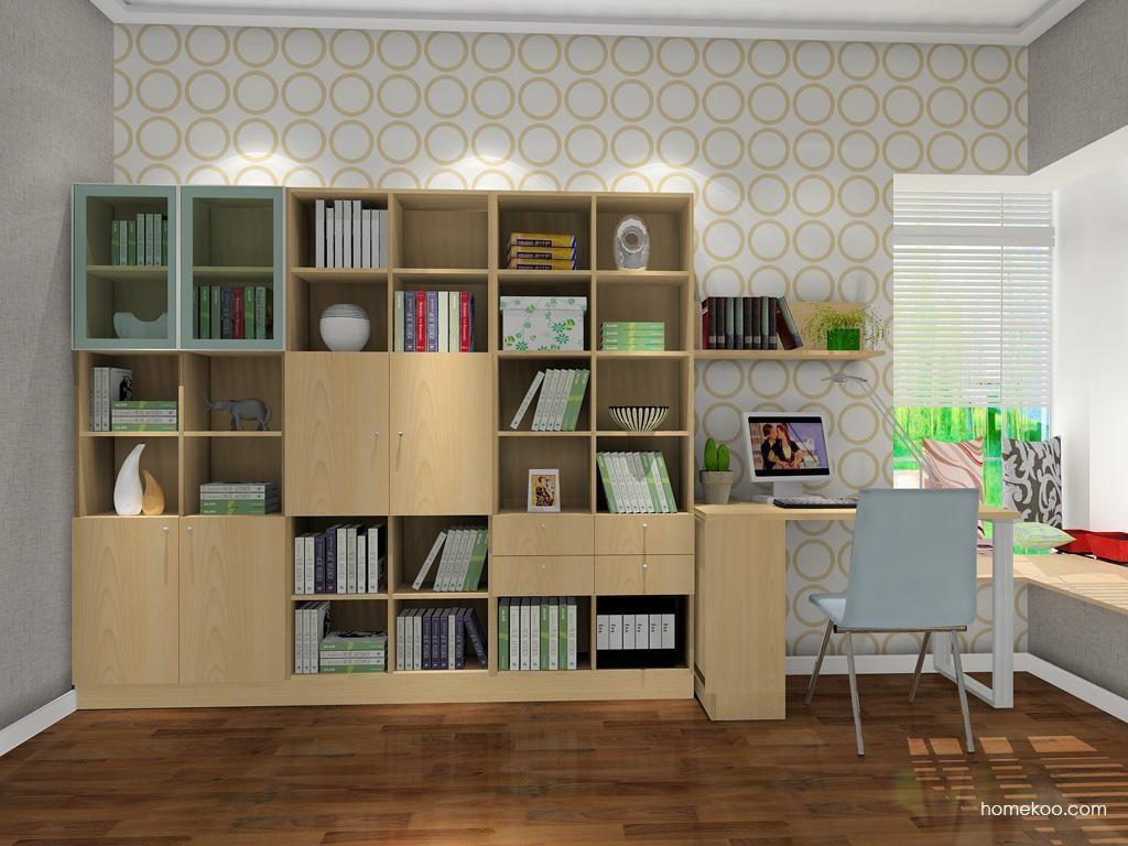 新实用主义书房家具C8533