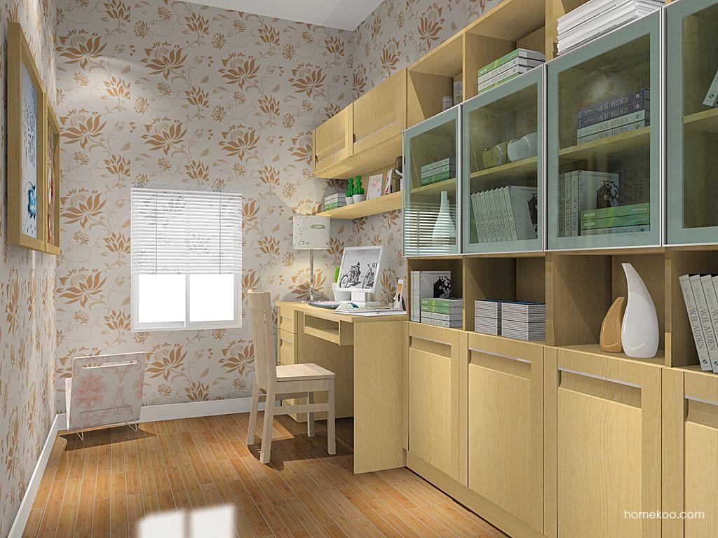 丹麦本色书房家具C8541