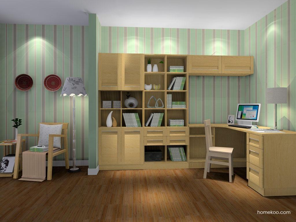 丹麦本色书房家具C8943