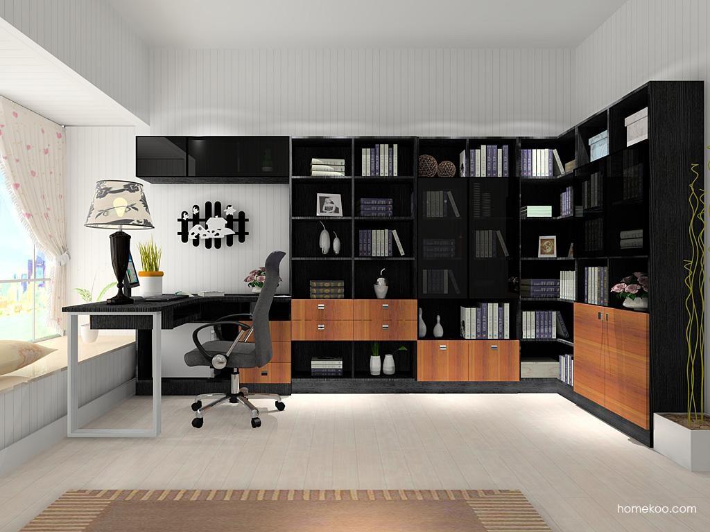 德国森林书房家具C9005