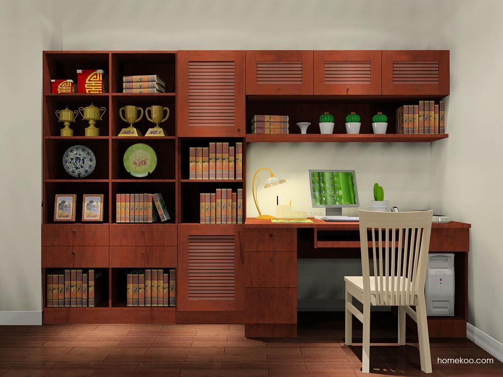 新中式主义书房家具C9017