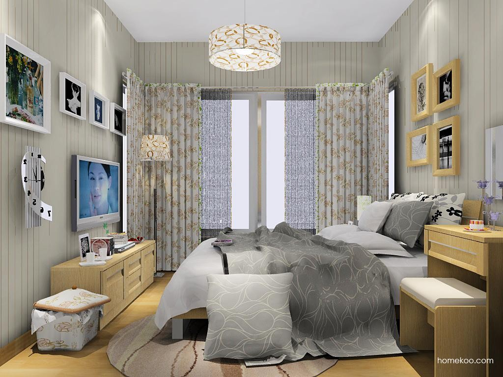 丹麦本色卧房家具A8965