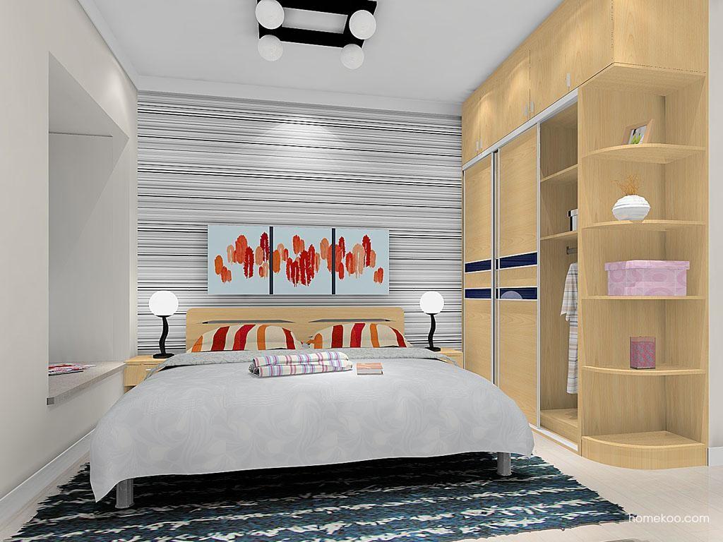 新实用主义卧房家具A8974