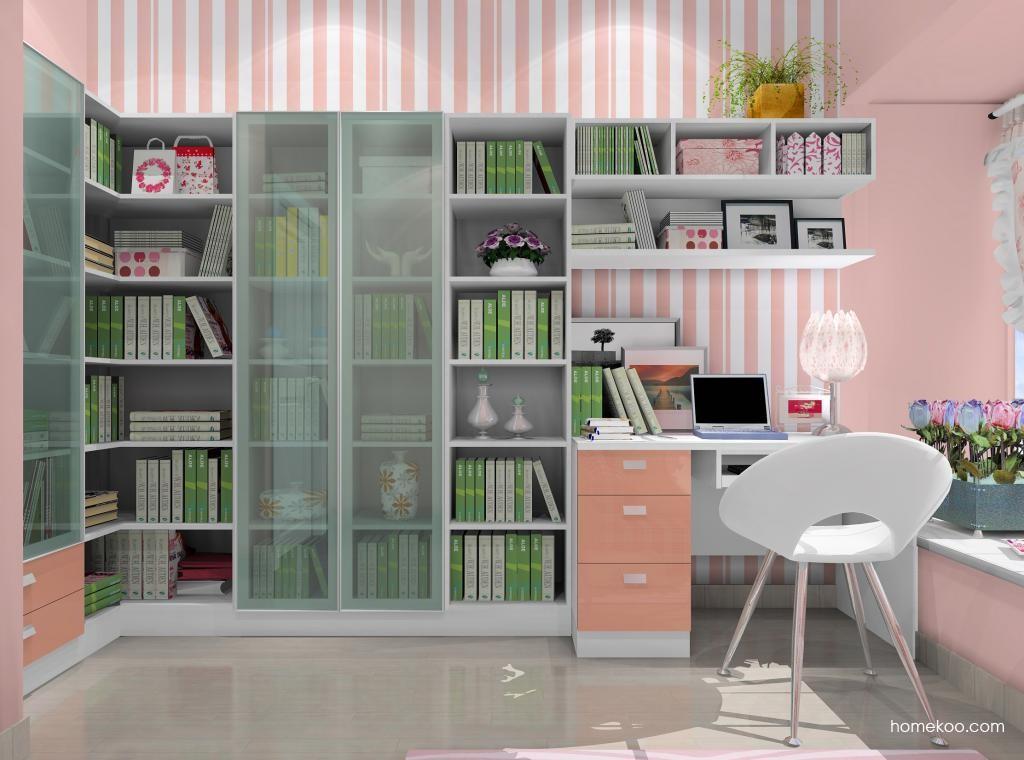 浪漫主义书房家具C9024
