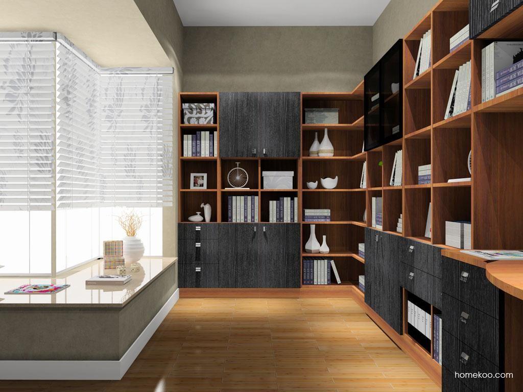 德国森林书房家具C9048