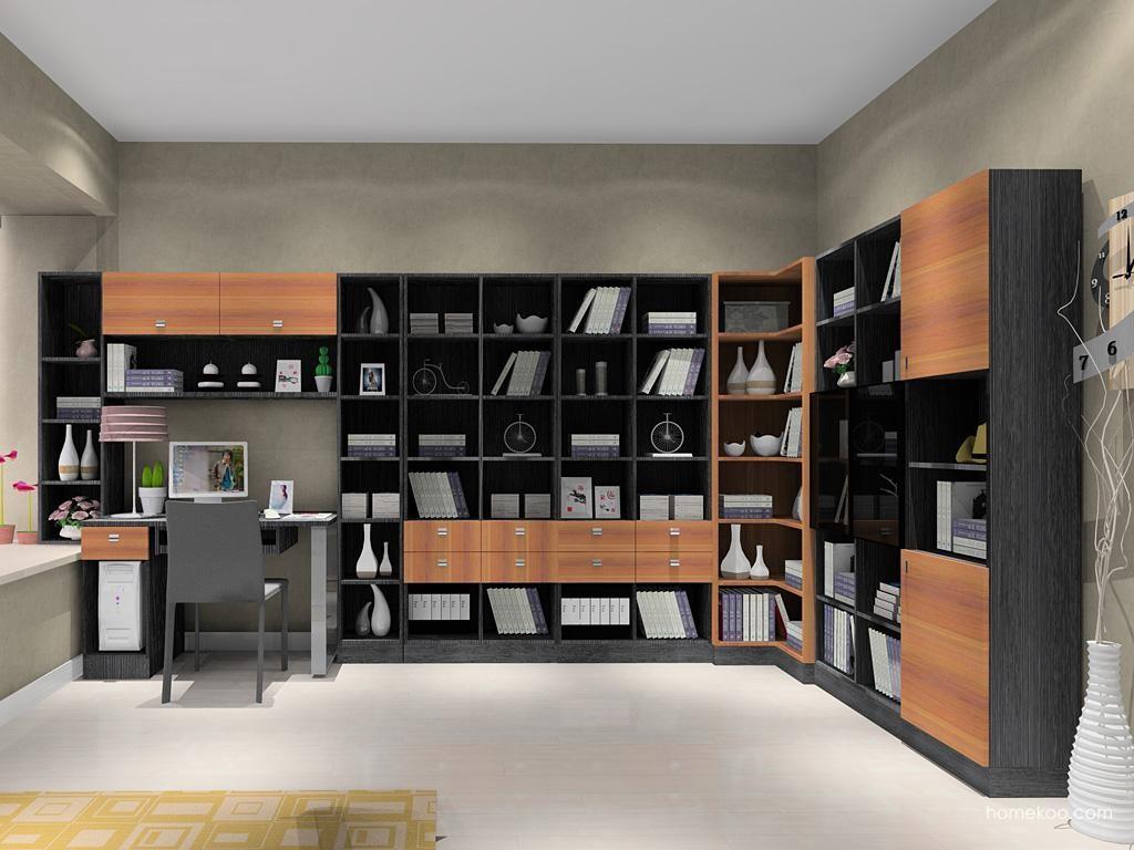 德国森林书房家具C9096