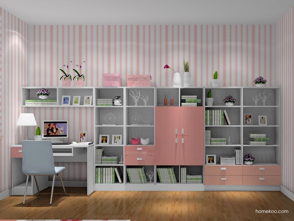 浪漫主义书房家具C9101