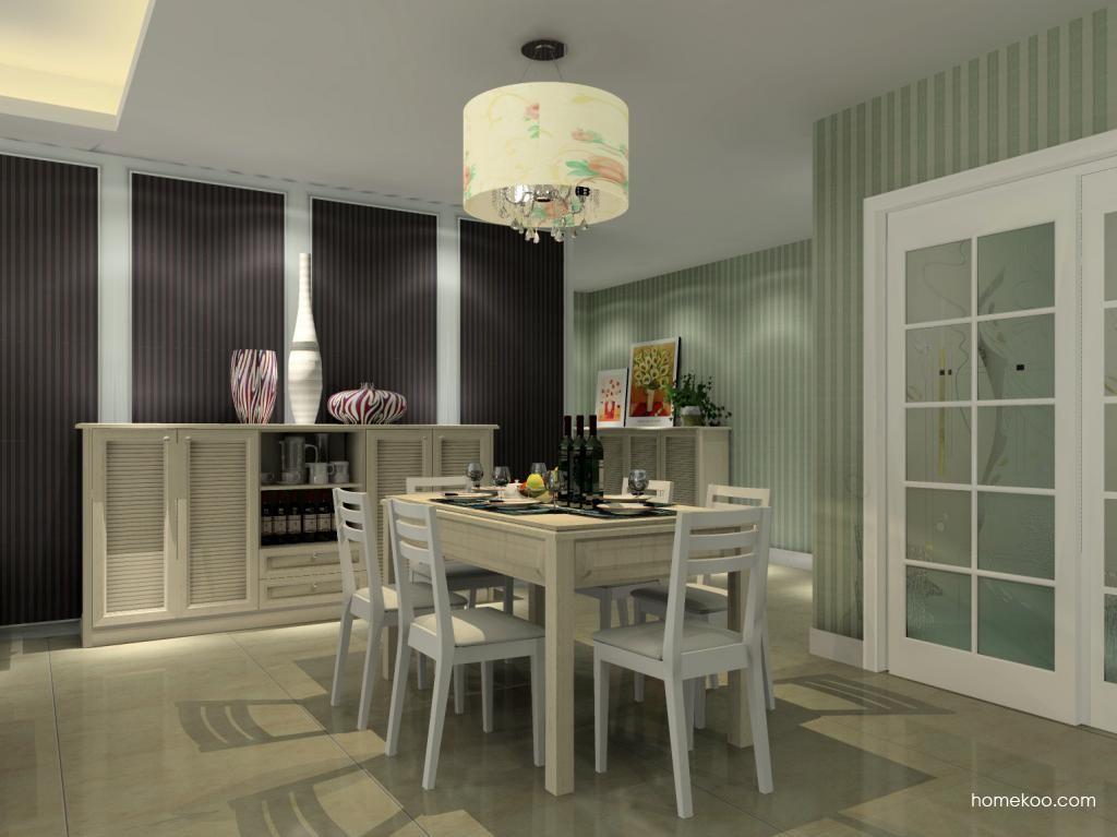 英伦印象餐厅家具E7944