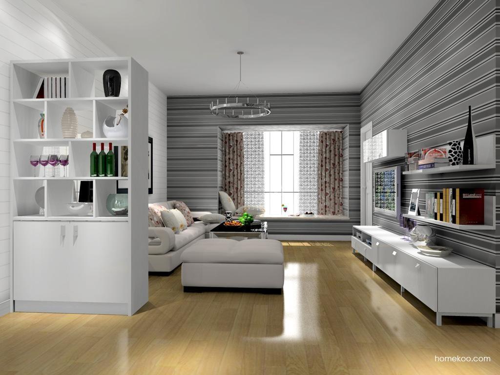 浪漫主义客厅家具D7950