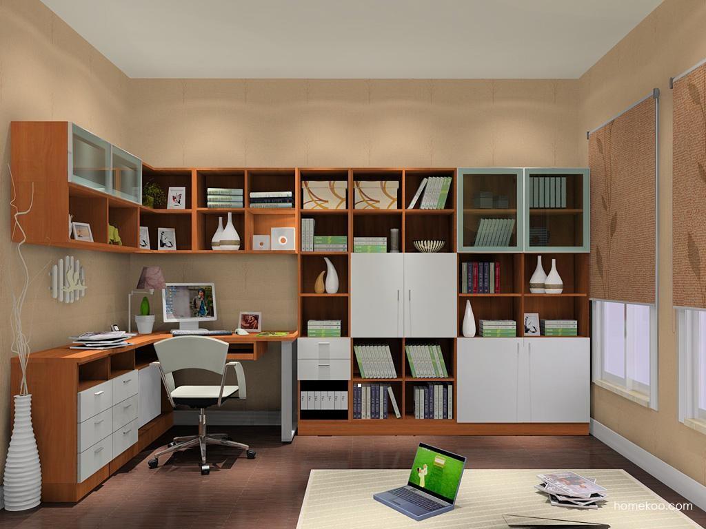 新实用主义书房家具C9117