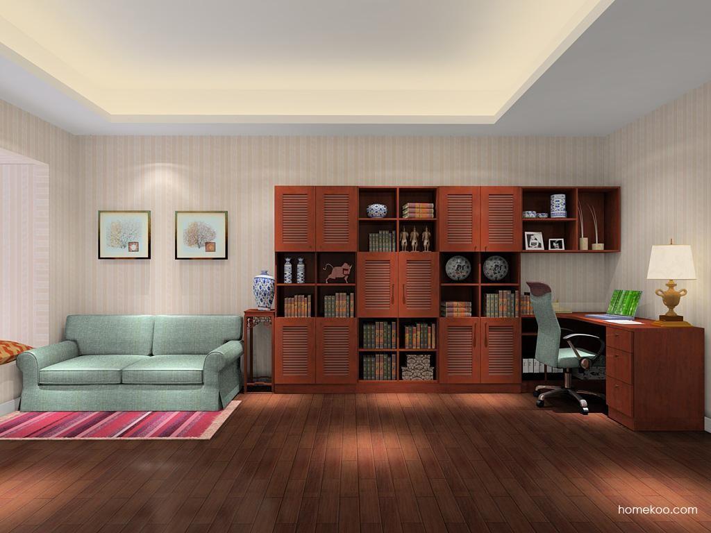 新中式主义书房家具C9166