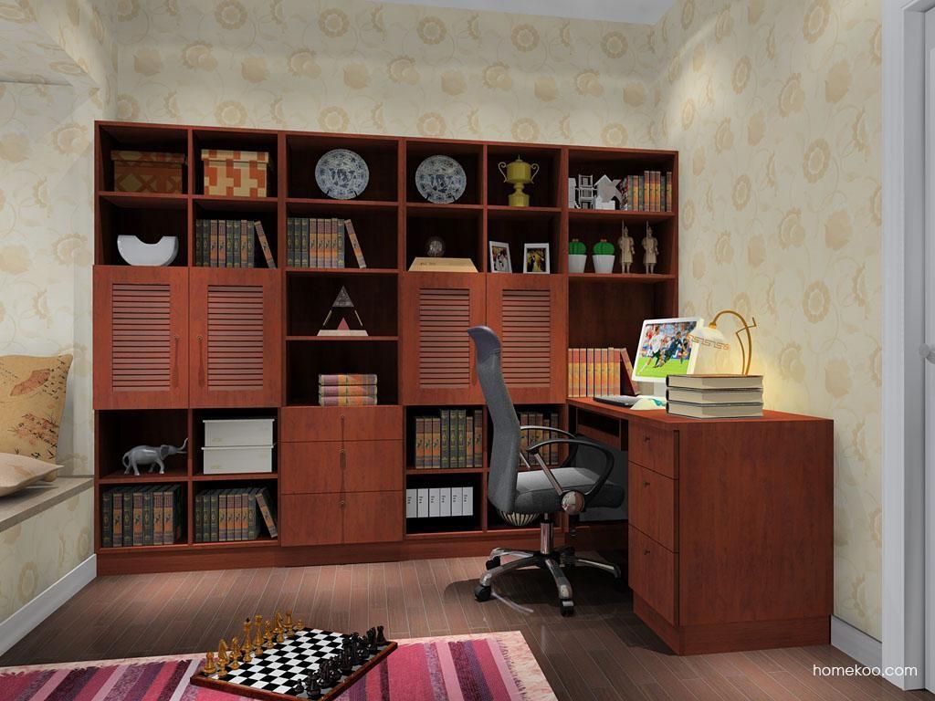 新中式主义书房家具C9196