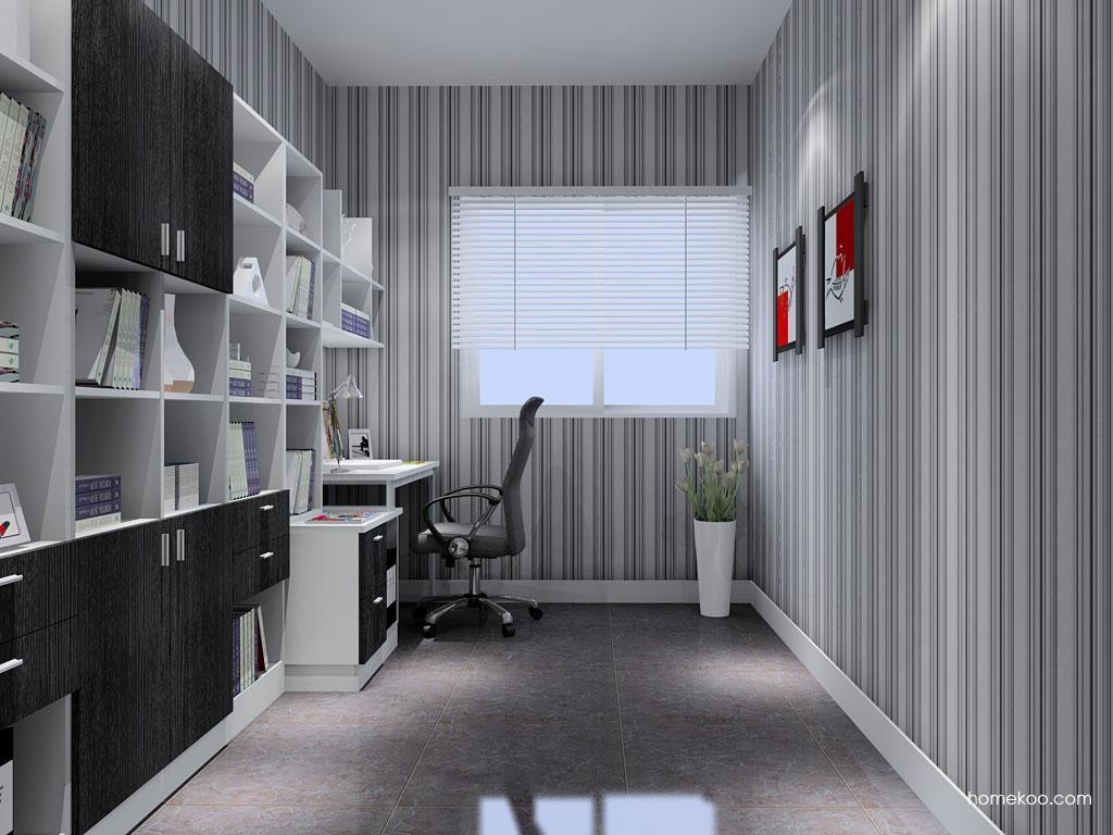 简约主义书房家具C9197