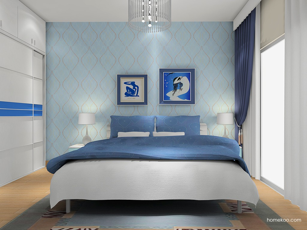 新实用主义卧房家具A2229