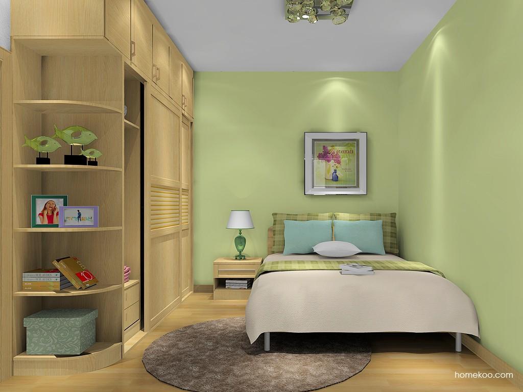 丹麦本色卧房家具A9358