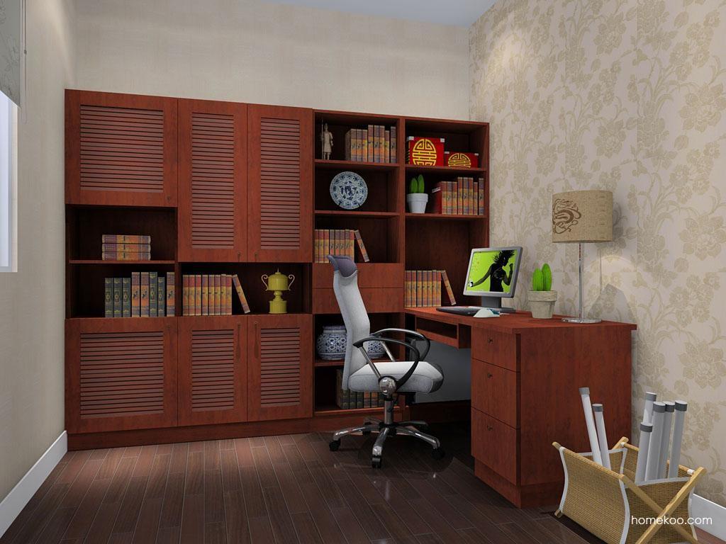 新中式主义书房家具C9241