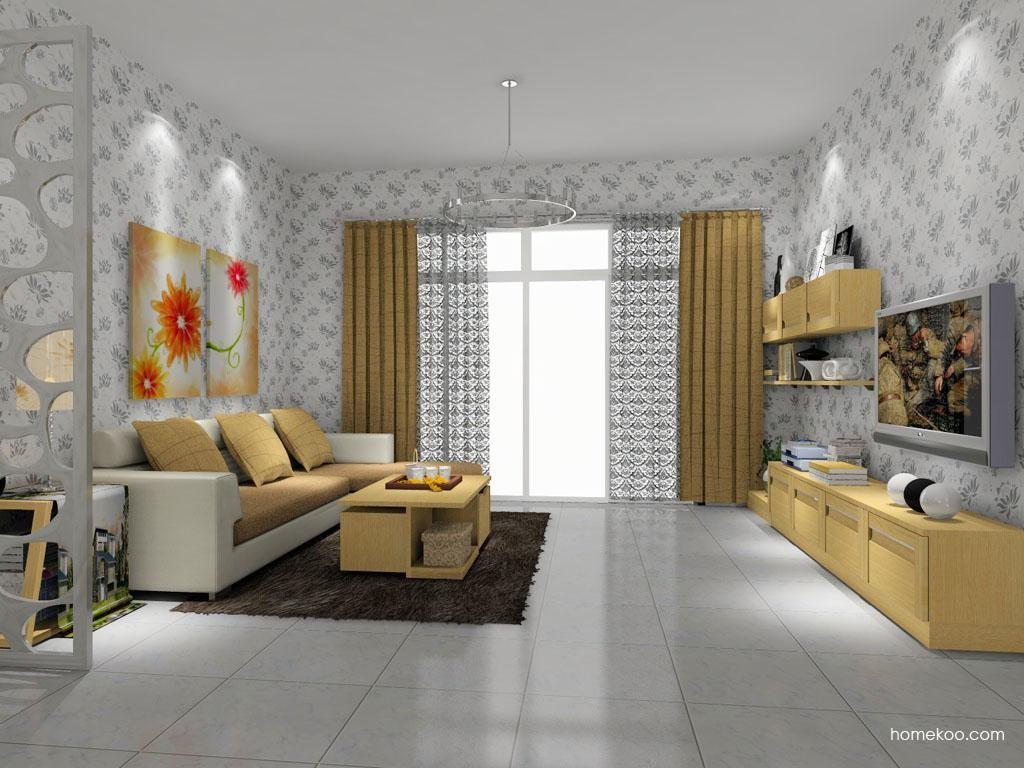 丹麦本色客厅家具D7975