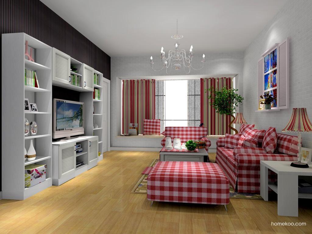 韩式田园客厅家具D8033