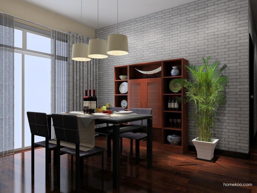 新中式主义餐厅家具E8036