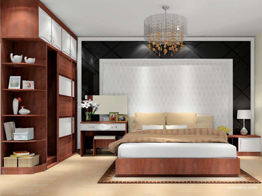 挪威月色卧房家具A9695