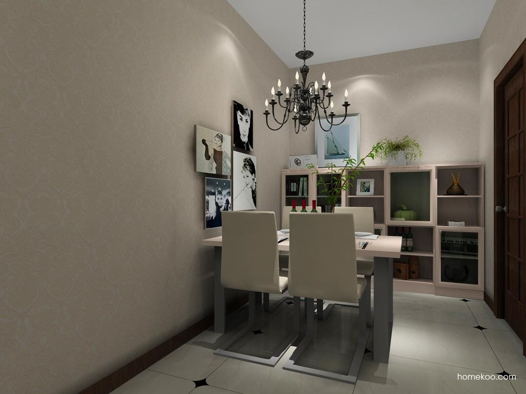 北欧阳光餐厅家具E8156