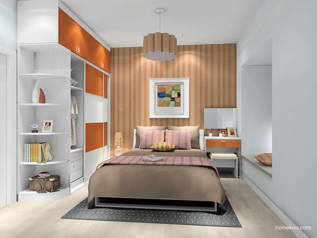 新实用主义卧房家具A9841