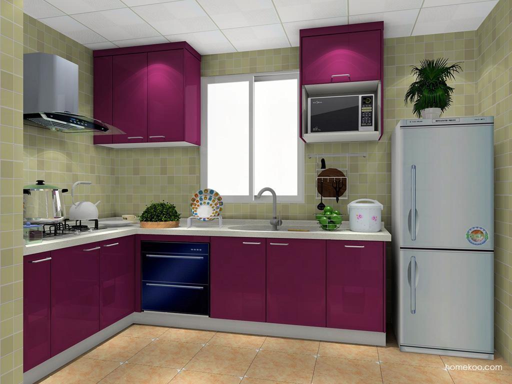 紫晶魅影橱柜F9914