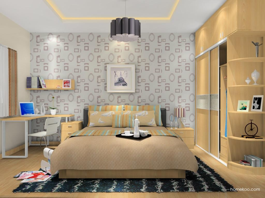 新实用主义卧房家具A9907
