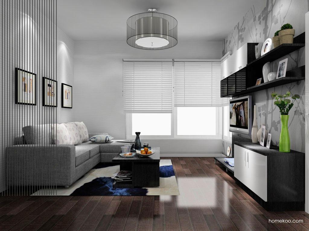 新实用主义客厅家具D8225